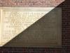Gedenktafel zur Eröffnung Harvards