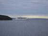Schiff in der Buch vor Bar Harbor