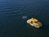 Tenderboot der AIDAbella auf dem Wasser