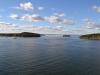 Wolkenschauspiel über der Bucht von Bar Harbor