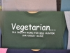 T-Shirt für Vegetarier