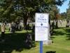 Friedhof mit Gräbern der Titanic Opfer