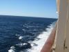 Ausblick aus der Balkonkabine der AIDAbella am Seetag