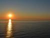 Sonnenuntergang auf dem Sankt Lorenz Strom von der AIDAbella aus 1
