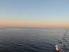 Sonnenuntergang auf dem Sankt Lorenz Strom von der AIDAbella aus 4