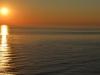 Sonnenuntergang auf dem Sankt Lorenz Strom von der AIDAbella aus 8