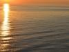 Sonnenuntergang auf dem Sankt Lorenz Strom von der AIDAbella aus 10