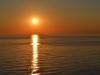 Sonnenuntergang auf dem Sankt Lorenz Strom von der AIDAbella aus 11