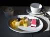 Nachtisch im SAS Flug von Copenhagen nach Newark