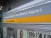 Zeichen am Newark International Airport