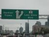 Expressway und Abfahrt Highway Kanada