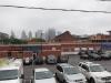 Blick zurück auf die Nebel Skyline von Toronto