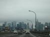 Skyline Torontos in den Wolken