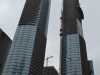 Zwei Hochhäuser in Toronto im Bau