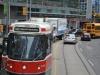 Straßenbahn Torontos von vorne