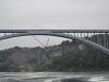 Brücke über die Grenze zwischen Amerika und Kanada