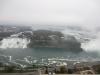 Noch einmal der Blick vom Skylon Tower auf die gesamten Niagara Fälle