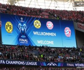 Champions League Finale 2013 Willkommen