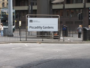 Manchester - Picadilly Gardens