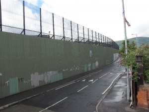 Belfast Peace Wall - Friedens Mauer