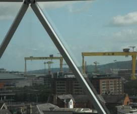 Belfast Aussicht aus Dome