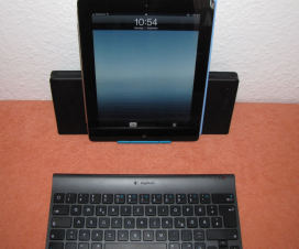 Tastatur mit iPad
