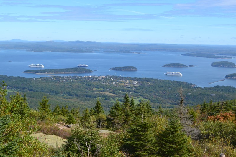 Blick vom Cadillac Mountain