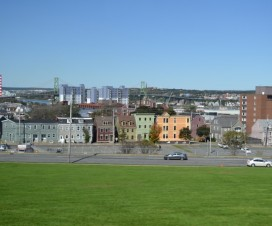 Blick auf Halifax