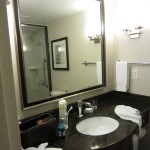 Badezimmer Hilton Garden Inn Toronto Airport