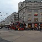 Weihnachtlich Geschmückte Straßen in London