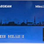 Miles and Bonus AEGAN blue Karte