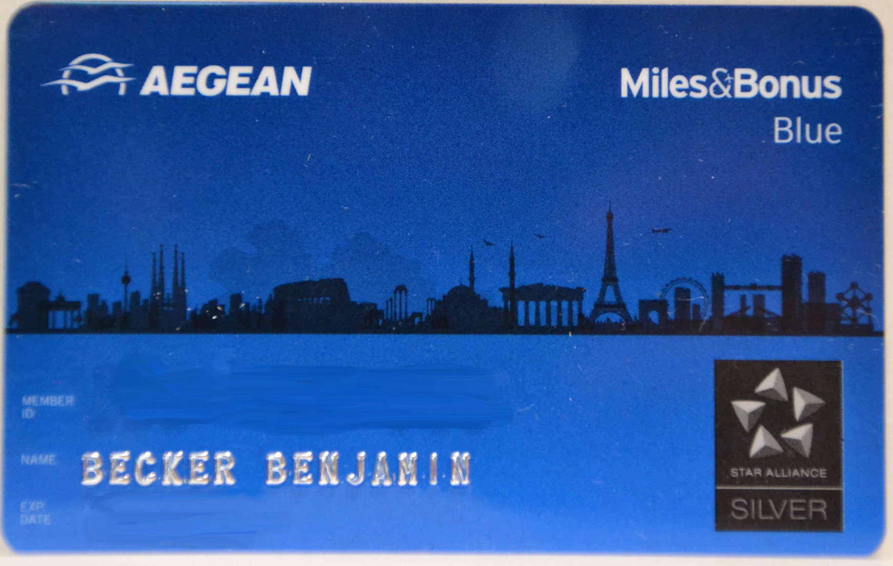 aegan miles and bonus star alliance gold