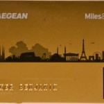 Miles and Bonus AEGAN gold Karte