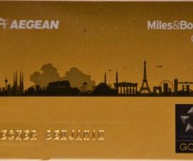AEGAN gold Karte