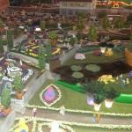 Blumenmeer im Miniatur Wunderland Hamburg