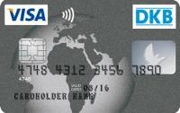 DKB VISA - Karte mit Kontaktloser Bezahlfunktion (die Wellen)