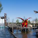 Wildwasserbahn im Legoland