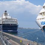 AIDAbella und MeinSchiff 1