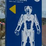 Cybermen Schild