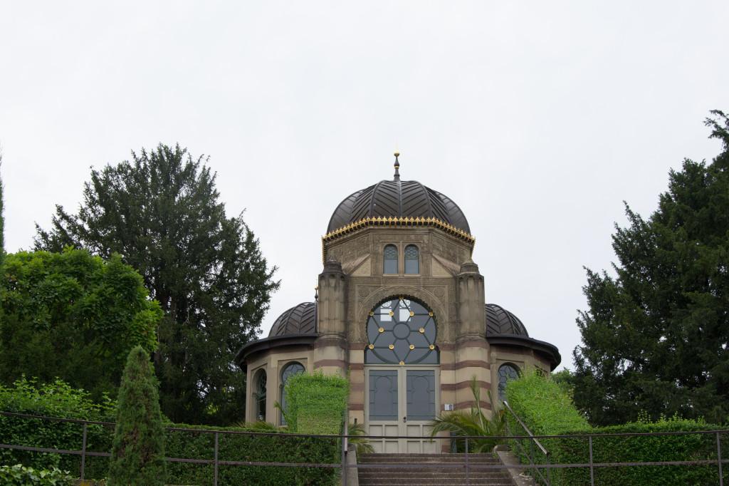 Gebäude in der Wilhelma Stuttgart