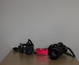 Nikon D3100 & FinePix Z85 & PowerShot