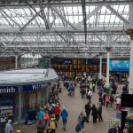 Wartehalle Bahnhof Edinburgh