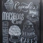 Bibi's Werbung für Cupcakes