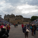 Edinburgh Tattoo vor dem Castle