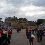 Edinburgh Tattoo vor dem Castle