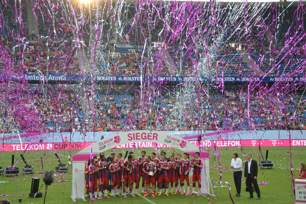 Siegesfeier T-Cup 2014