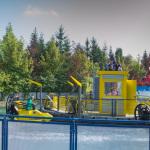 Spaßbereitendes Boot Fahrgeschäft im Legoland