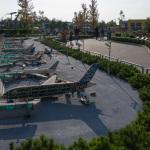 Detalierter Flughafen aus Lego