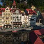 Sonnenuntergang im Legoland