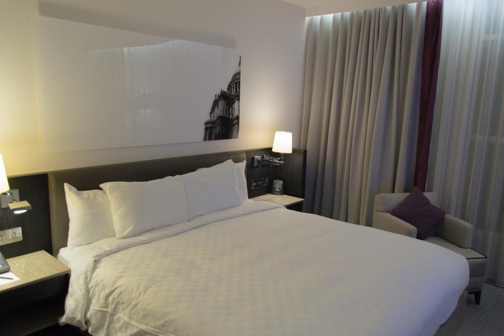 Andere Sicht auf das Zimmer im Hilton London Islington